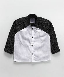 Knotty Kids Dual Color Shirt - Black And White