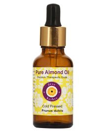 Deve Herbs Cold Pressed Almond Oil - 50 ml