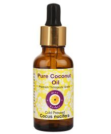 Deve Herbes 100% Pure Coconut Oil With Dropper - 50 ml