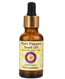 Deve Herbes Pure Papaya Seed Oil With Glass Dropper - 100 ml