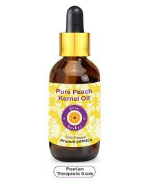 Deve Herbes Pure Peach Kernel Oil With Glass Dropper - 50 ml