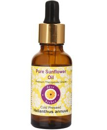 Deve Herbes Pure Sunflower Oil (Helianthus Annuus) - 50 ml