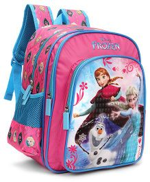 Disney Frozen School Bag Pink - 16 inches
