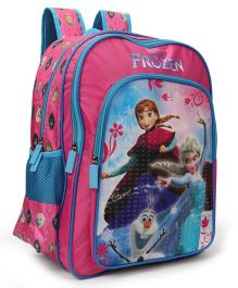 Disney Frozen School Bag Pink - 18 inches