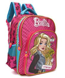 Barbie School Bag Pink Blue - 18 inches
