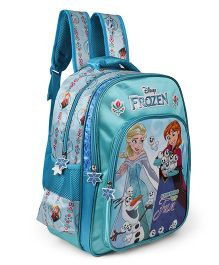 Disney Frozen School Bag Blue - 16 inches