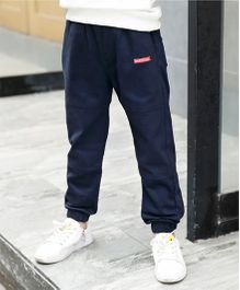 Pre Order - Awabox Smart Plain Pants - Navy Blue