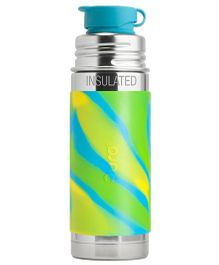 Pura Insulated Stainless Steel Sports Bottle Green - 260 ml
