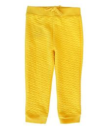 Happy Kids Quilted Pants - Yellow
