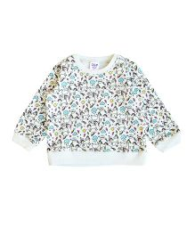 Happy Kids Its Magical Print Sweatshirt - White