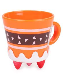 Mug Orange White - 360 ml
