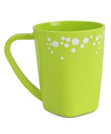Polka Dotted Mug Green - 400 ml