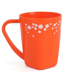Polka Dotted Mug Orange - 400 ml