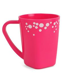 Polka Dotted Mug Pink - 400 ml