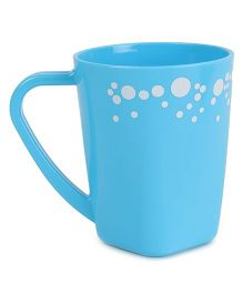 Polka Dotted Mug Sky Blue - 400 ml