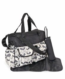 Diaper Bag With Changing Mat - Black