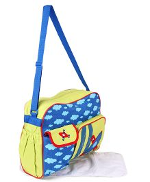 Diaper Bag With Changing Mat - Green