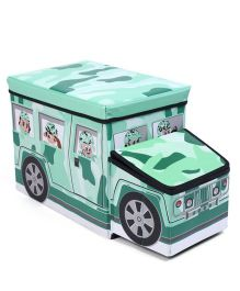 Truck Shaped Storage Box - Green