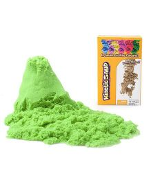 Waba Fun Kinetic Sand Green - 453 grams
