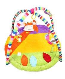 Ole Baby Plushy Butterfly Twist And Fold Play Gym - Multi Colour