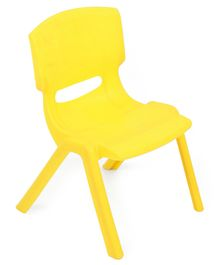 Puppy Embossed Kids Chair - Yellow