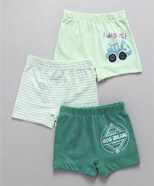 Ohms Shorts Pack of 3 - Green