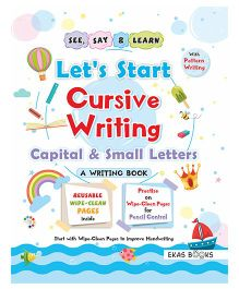 Writing Book Let's Start Cursive Writing Book - English