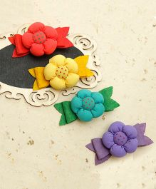 D'chica A Chic Set Of Hair Clip Set - Multicolor