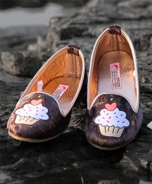 D'chica Stylish Loafers - Brown