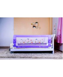 Kiddale Baby Safety Bed Guard Purple - Length 180 cm