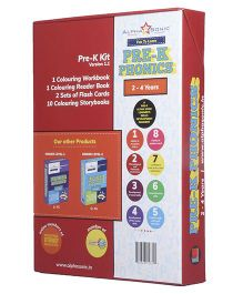 Alpha Sonic Phonics Pre-K Kit - English