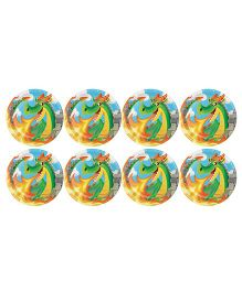 Celebration Essentials Paper Plate Dragon Print Pack of 8 - Multi Color
