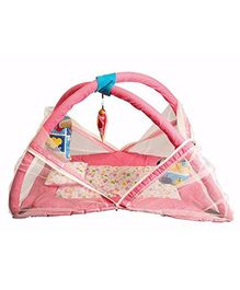 Babies Bloom Play Gym With Mosquito Net - Pink