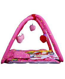 Babies Bloom Play Gym With Mosquito Net Princess Design - Pink