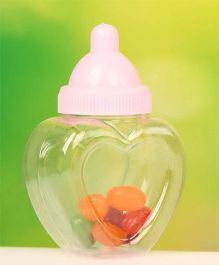 Babies Bloom Feeding Bottle Shaped Party Favors Set of 12 - Pink