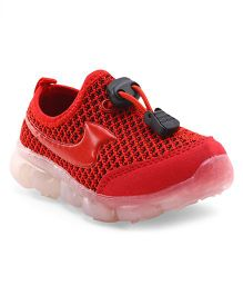 Cute Walk by Babyhug Slip On Sports Shoes - Red