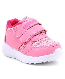 Cute Walk by Babyhug Sports Shoes Velcro Closure - Pink