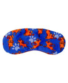 The Crazy My Eye Mask Puppy Print - Blue