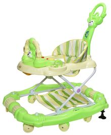 Notty Ride Rocking Musical Adjustable Walker Cum Rocker - Green