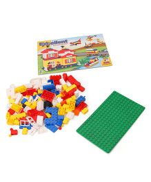 Ratnas Excellent Building Blocks Set 300 Pieces - Multicolour