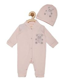 Fairies Forever Teddy Jewel Romper Set - Pink