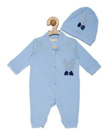 Fairies Forever Butterfly Jewel Set Onesie - Blue