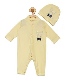 Fairies Forever Butterfly Jewel Set Onesie - Yellow