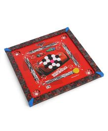 Disney Pixar Cars 2 In 1 Carrom Board & Ludo Game (Color & Print May Vary)