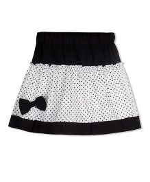 Young Birds Micky Drop Skirt - Black