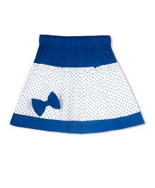 Young Birds Micky Drop Skirt - Blue