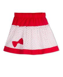 Young Birds Micky Drop Skirt - Red