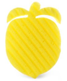 Fruit Shape Bathing Sponge - Yellow