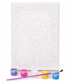 4M Paint Your Own Masterpiece Mermaid Theme - Multi Color