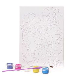 4M Paint Your Own Masterpiece Butterfly Theme - Multicolour